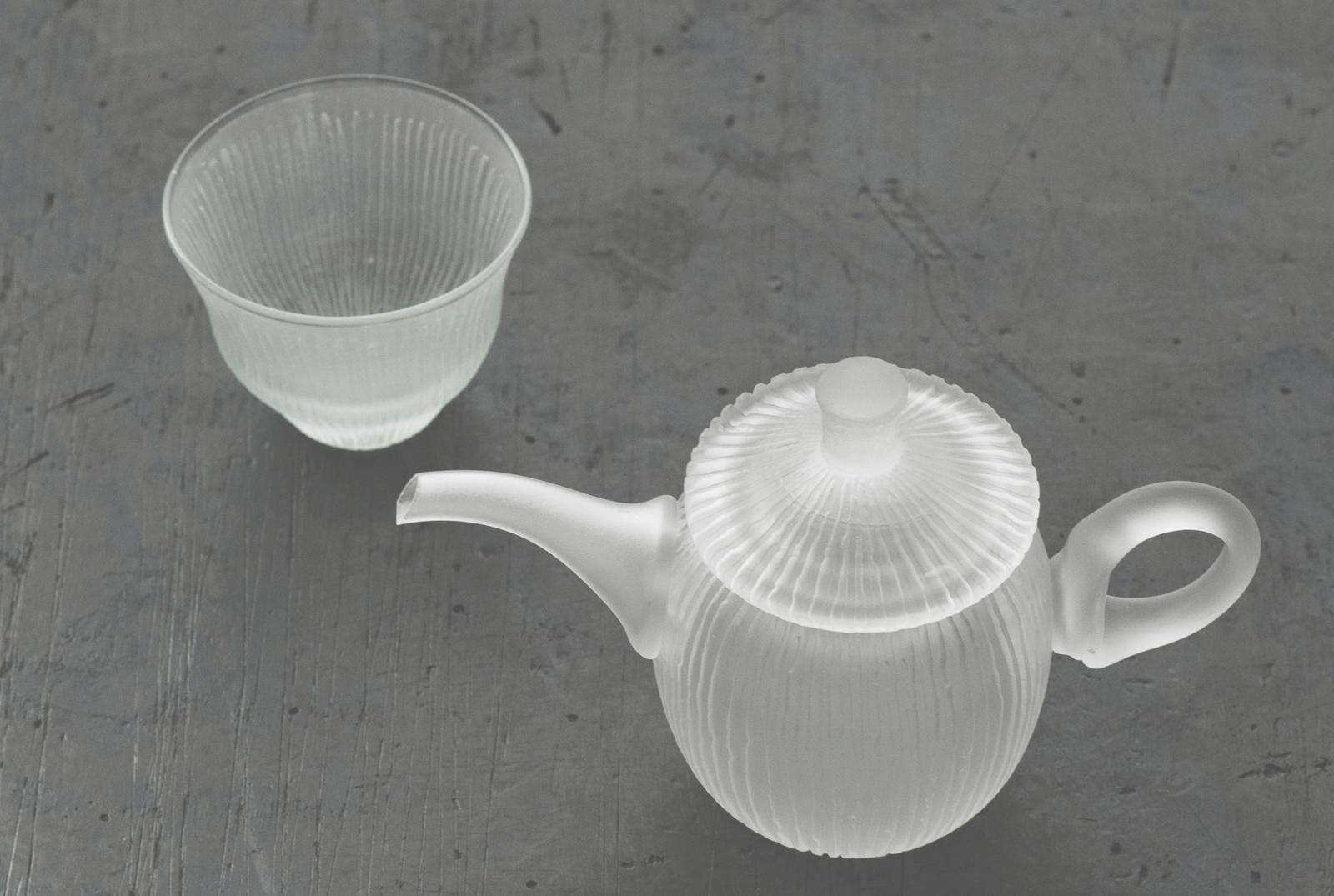 晴耕社ガラス工房|WORKS|茶器
